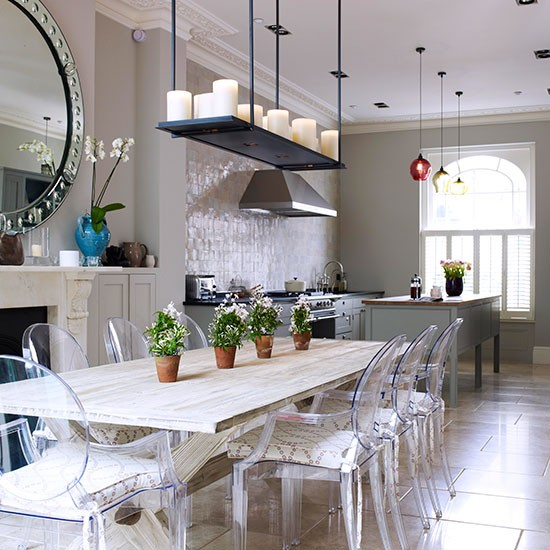 Open Plan Kitchen Diner: Classic And Grand Kitchen-diner