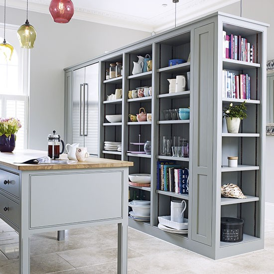 Practical storage kitchen | Freestanding kitchen design ...
