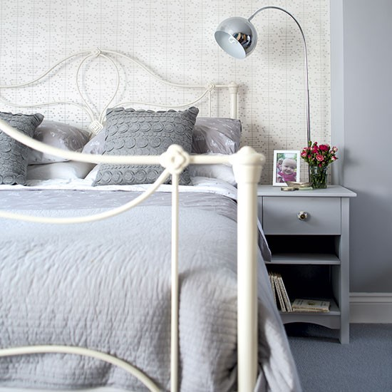 Grey Bedroom Ideas With Calm Situation: Housetohome.co.uk
