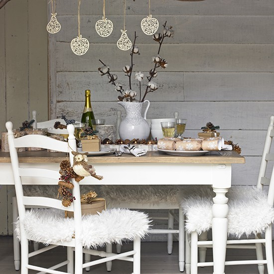 Country Dining Room Decorating Ideas: Country Christmas Dining Room Ideas