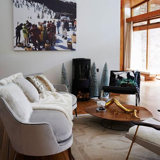 Scandi Christmas living room | Modern Christmas decorating ...