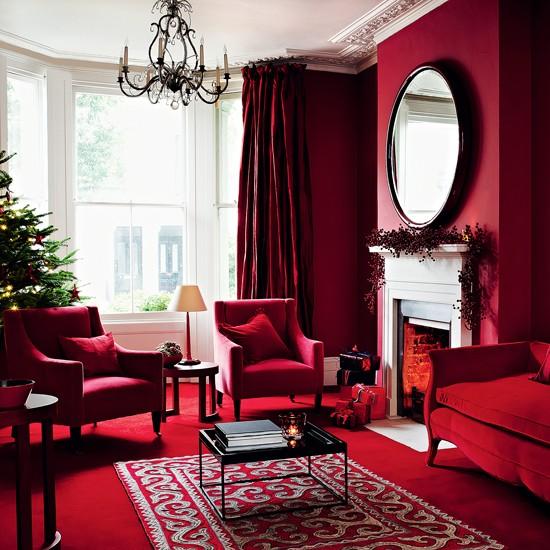 Red scheme | Christmas decorating ideas | housetohome.co.uk