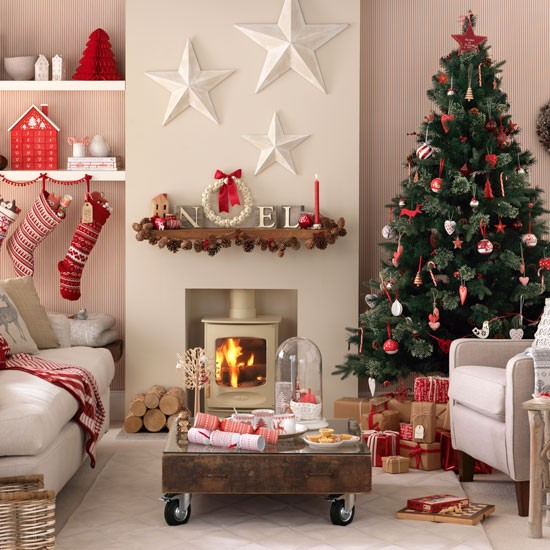 Budget christmas decorating ideas - Christmas decorations for the living room ...