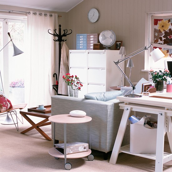 Home Desk Design Ideas: Small Home Office Design Ideas