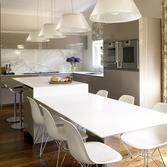 Kitchen Island Ideas With Seating: Use Seating In Your Island