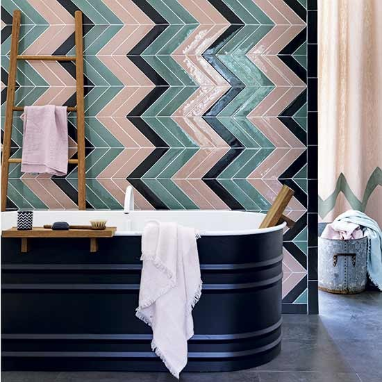 Teal And Pink Deco Bathroom Decorating With Teal And Green Housetohome Co Uk