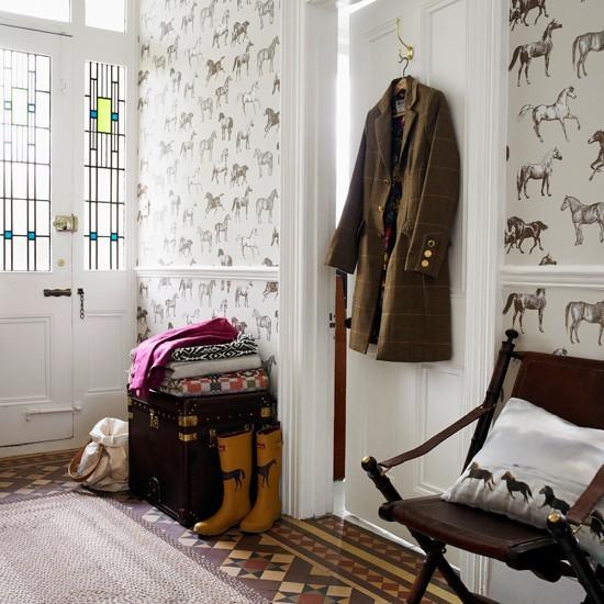 Equestrian Themed Hallway