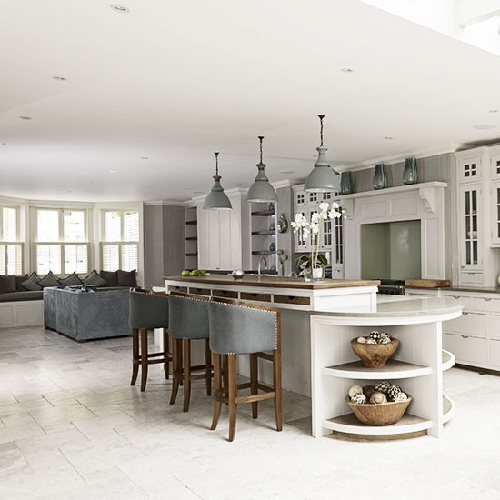 Open Plan Designs For Kitchens: Raise The Bar In An Open-plan Kitchen
