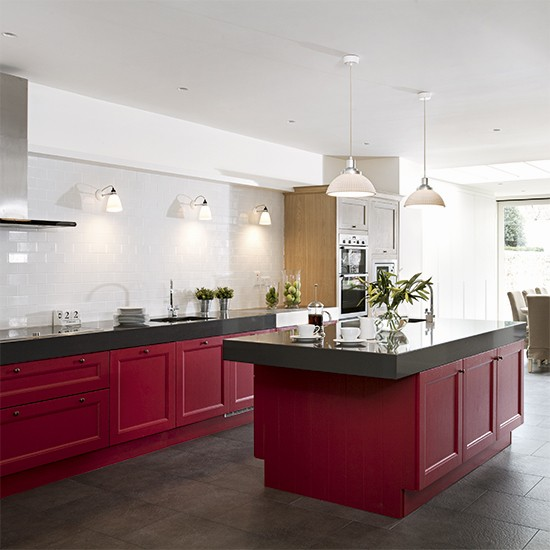 Red Kitchen Colour Ideas - Home Trends