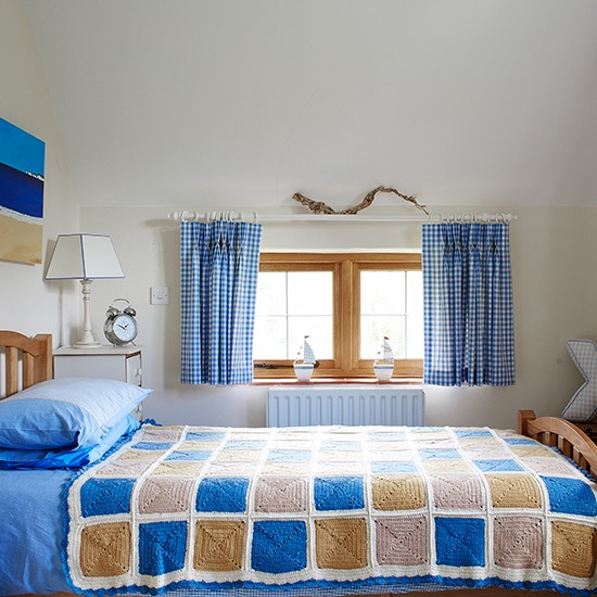 Little Boys Bed: Little Boy's Blue Country Bedroom
