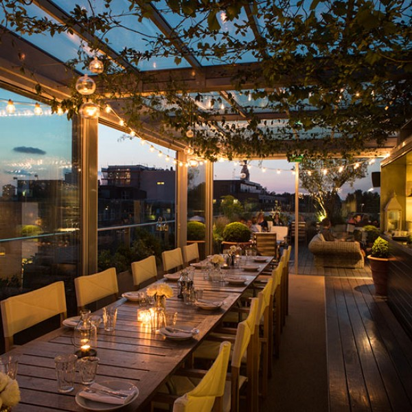 7 best restaurants for dining outdoors in London