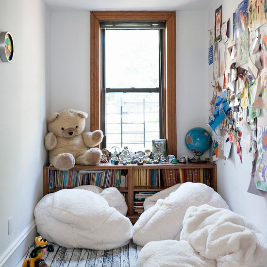 Kids Room Ideas For Playroom: Playroom With Reading Corner