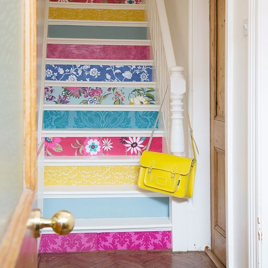 Painted Stair Ideas: Housetohome.co.uk