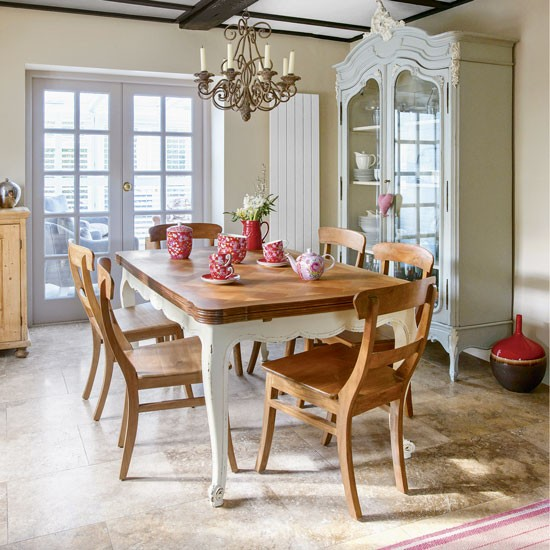 Country Dining Room: Modern Country Dining Room With Chinese Influence