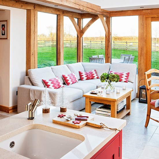 Country Kitchen Islands With Seating: Be Inspired By This Country Kitchen Diner