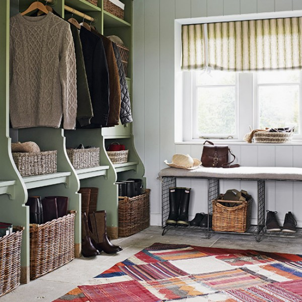8 Country Style Boot Room Designs