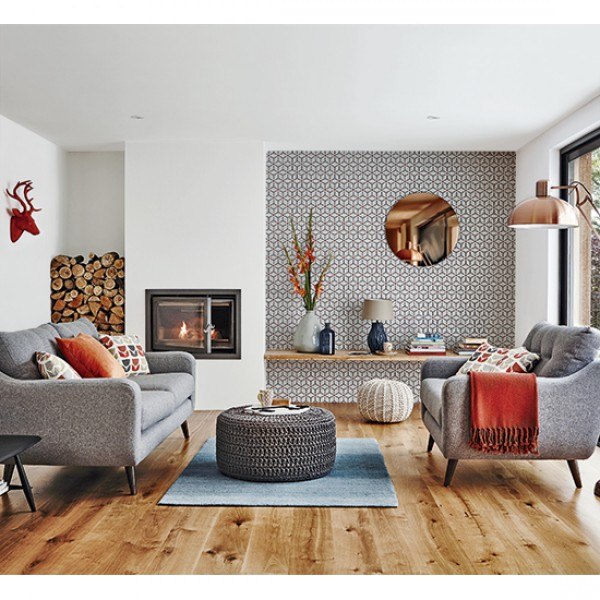 Retro Living Room Ideas And Decor Inspirations For The: Get A Retro Scandi Look On A Budget