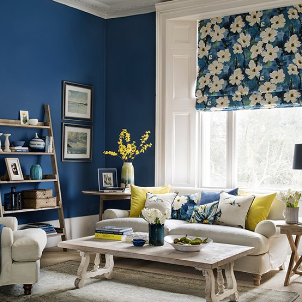Blue Room: Transform Three Rooms With Moody Blue