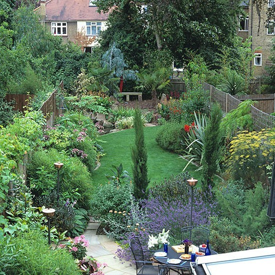 Home Garden Design Ideas: Thin Garden Design