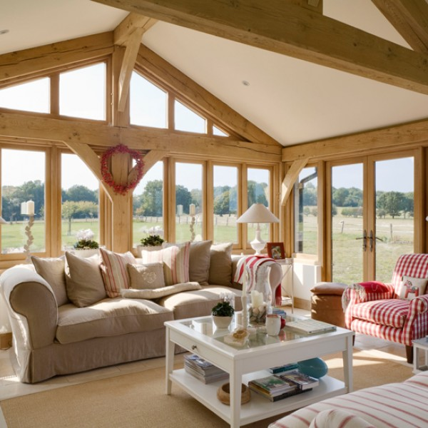 7 Beautiful Oak-framed Extensions