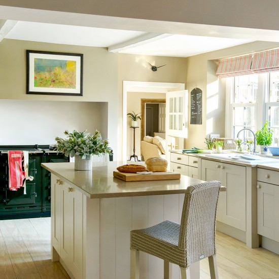 Kitchen Bar Overhang: Include An Overhang And Draw Up A Chair
