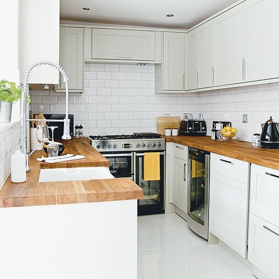U Shaped Kitchen With Centrepiece Range Cooker U Shaped
