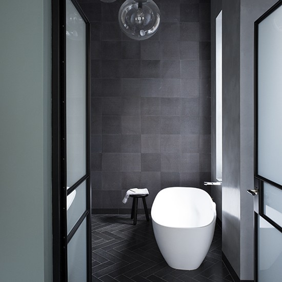 Black White And Silver Bathroom: Grey Bathroom Ideas To Inspire