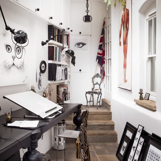 11 Cool Home Office Ideas For Men: Housetohome.co.uk
