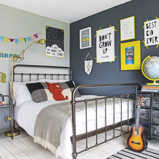 Baby Boy Bedroom Ideas Uk Bedroom Wallpaper Ocean Bedroom Chairs Malta Master Bedroom Blue Paint Ideas: Modern Childrens Room With Colourful Wall Art