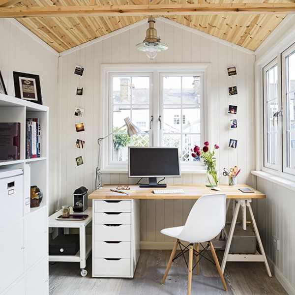 The 18 Best Home Office Design Ideas With Photos: 8 Country-style Home-office Ideas