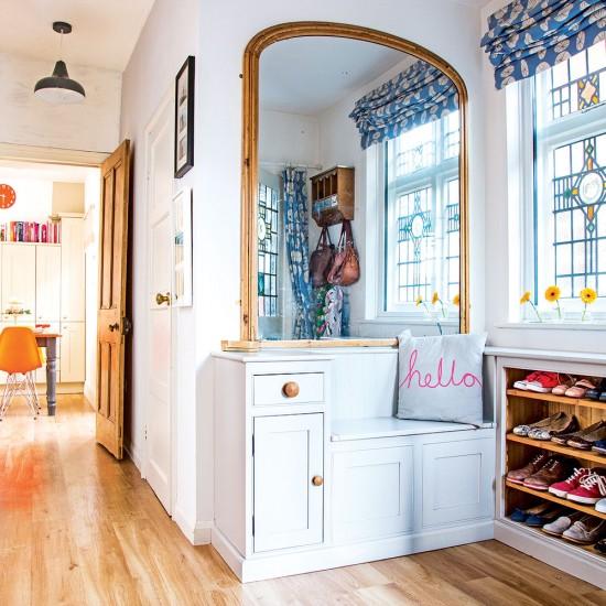 Victorian Hallway: Victorian Hallway Packed With Modern Storage