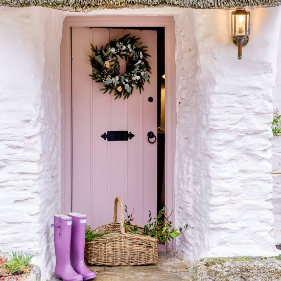 Entrance Step Inside This Idyllic Thatched Cottage With
